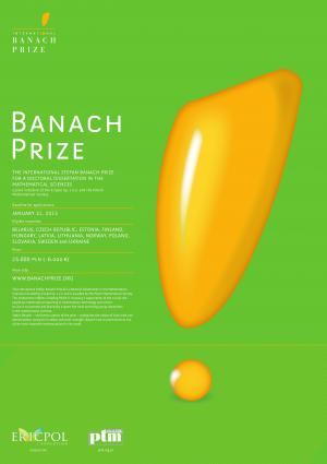 """7. edycja Konkursu """" The International Stefan Banach Prize"""" ogłoszona"""