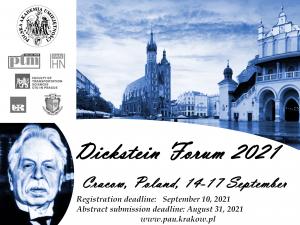 Dickstein Forum III 2021, 14-17 września 2021, Kraków, on-line