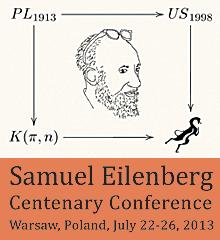 Samuel Eilenberg Centenary Conference, Warsaw, Poland, July 22-26, 2013