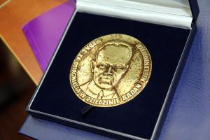 Medal im. Juliusza Schaudera za 2014 dla Paula H. Rabinowitza, 14 września 2015, Toruń