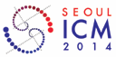 International Congress of Mathematicians, August 13-21, 2014, Coex, Seoul, Korea