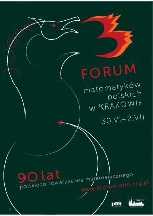 III Forum Matematyków Polskich, 30 czerwca-2 lipca 2009, Kraków
