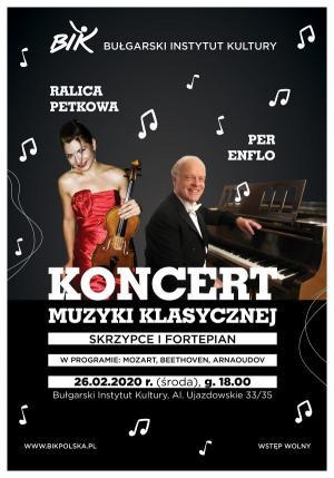 Koncert Pera Enflo w Warszawie, 26 lutego 2020