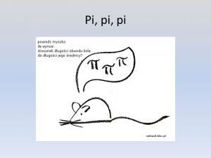 14 marca dniem liczby Pi