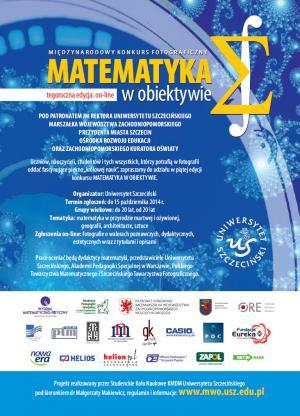 V edycja konkursu fotograficznego - Matematyka w obiektywie