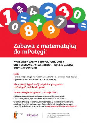 Ruszyła IV edycja programu grantowego mPotęga Fundacji mBanku