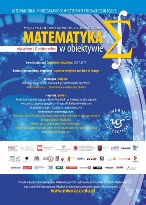 VIII edycja międzynarodowego konkursu fotograficznego - Matematyka w obiektywie