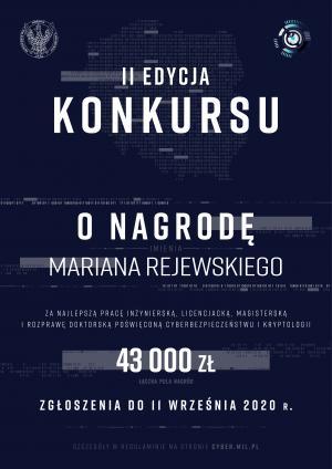 MON ogłasza II edycję konkursu o Nagrodę im. Mariana Rejewskiego