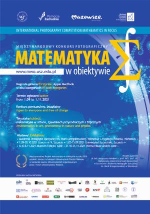 XII edycja międzynarodowego konkursu fotograficznego - Matematyka w obiektywie