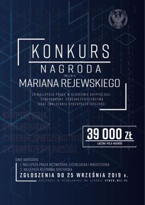 MON ogłosił I edycję Nagrody im. Mariana Rejewskiego