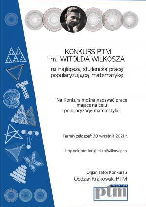 Kolejna edycja Konkursu PTM im. Witolda Wilkosza ogłoszona
